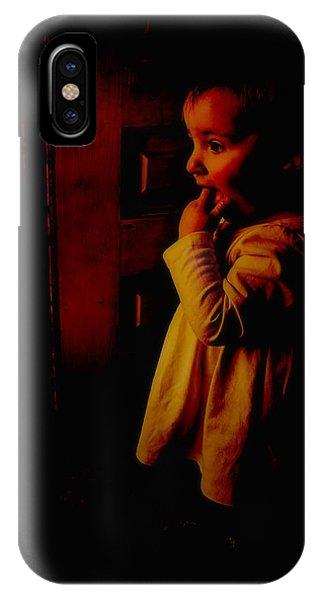 Not Afraid Of The Dark IPhone Case