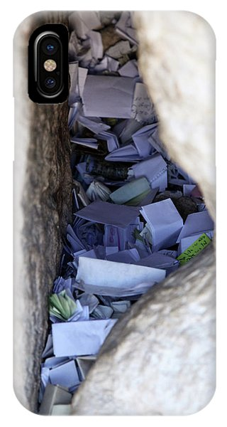 Notes In The Wailing Wall  IPhone Case