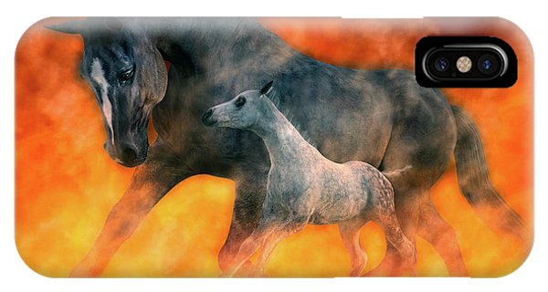 Tribute iPhone Case - Nothin But Fire by Betsy Knapp