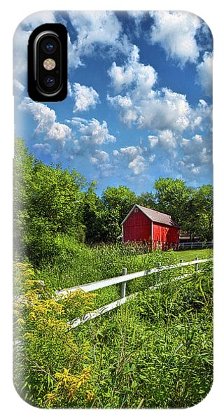 Noticing The Days Hurrying By IPhone Case