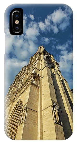 IPhone Case featuring the photograph Notre Dame Angles In Color - Paris, France by Melanie Alexandra Price