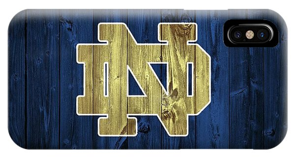 Irish iPhone Case - Notre Dame Barn Door by Dan Sproul
