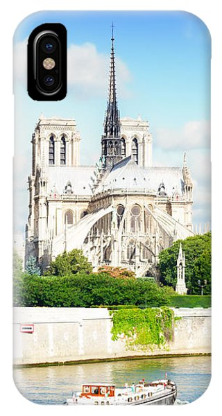 Notre Dame Cathedral, Paris France IPhone Case