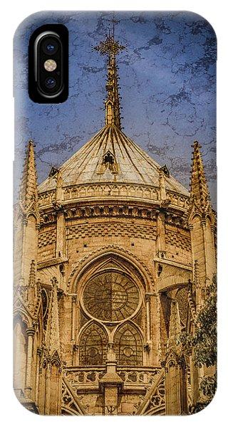 Paris, France - Notre-dame De Paris - Apse IPhone Case