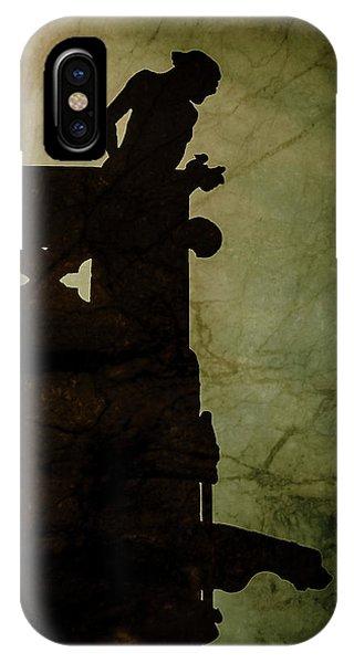 Paris, France - Gargoyle Watch IPhone Case