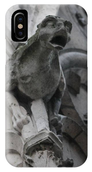 Notre Dame Gargoyle Grotesque IPhone Case
