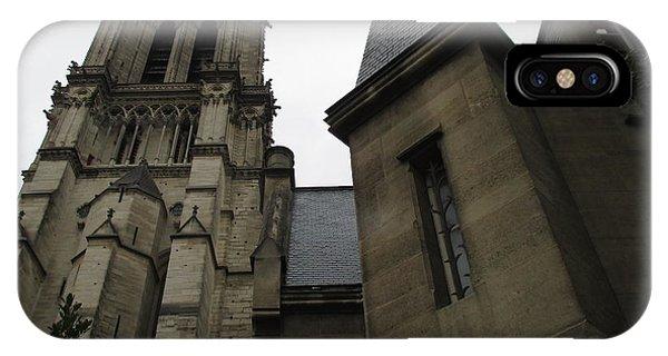 Notre Dame Paris Southwest IPhone Case