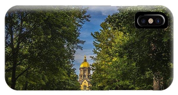 Notre Dame University 2 IPhone Case