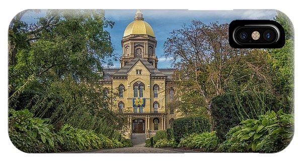 Notre Dame University Q1 IPhone Case