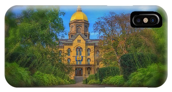 Notre Dame University Q2 IPhone Case