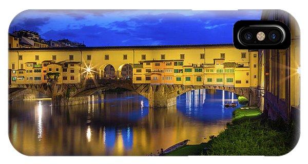 Notte A Ponte Vecchio IPhone Case