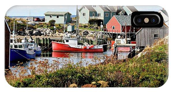 Nova Scotia Fishing Community IPhone Case