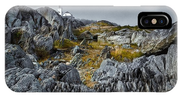 IPhone Case featuring the photograph Nova Scotia's Rocky Shore by Garvin Hunter