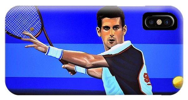 Novak Djokovic IPhone Case