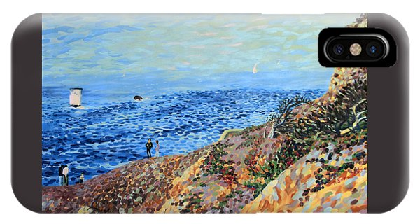 November Day At Point Lobos San Francisco IPhone Case