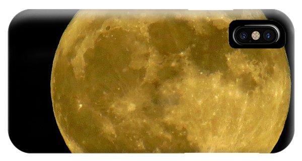 November Full Moon IPhone Case