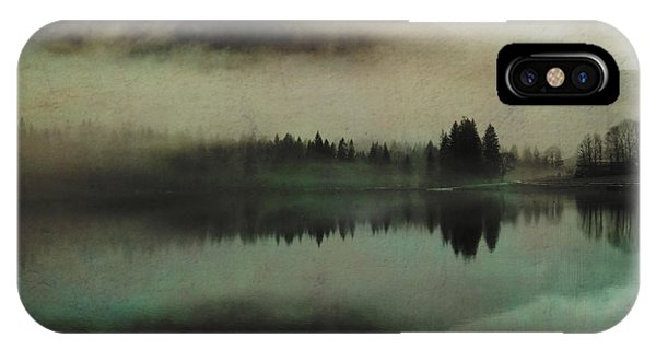 Susann Serfezi iPhone Case - November Lake by AugenWerk Susann Serfezi