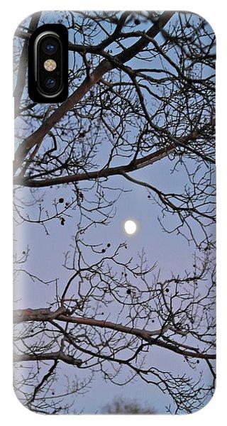 November Moon IPhone Case