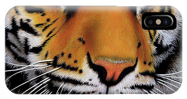 November Tiger IPhone Case
