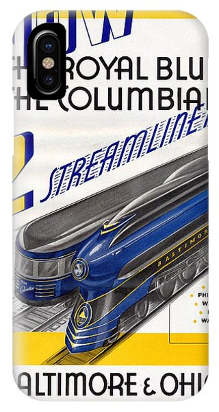 Now The Royal Blue The Columbian IPhone Case