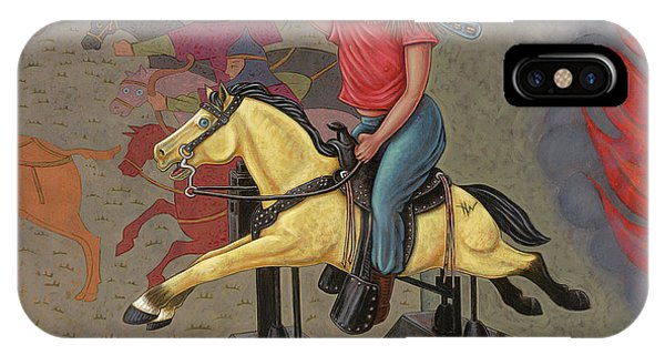 Now We Ride IPhone Case