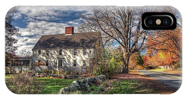 Noyes House In Autumn IPhone Case