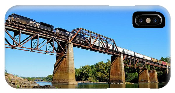 IPhone Case featuring the photograph Ns Over The Congaree 5 by Joseph C Hinson Photography