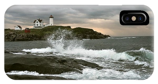 Nubble Light In A Storm IPhone Case