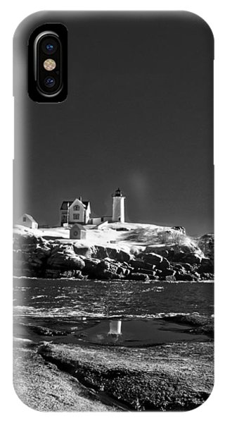 Nubble Lighthouse - York - Maine IPhone Case