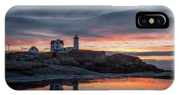 Nubble Sunrise Reflection IPhone Case