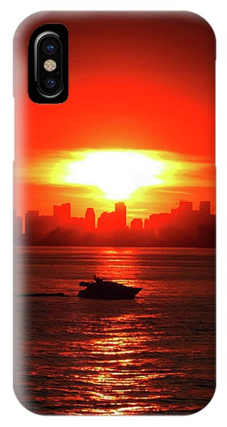 Nuclear Miami Sunset IPhone Case