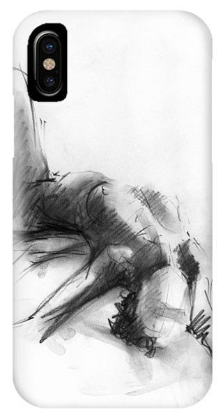 Female iPhone Case - Nude 4 by Ani Gallery