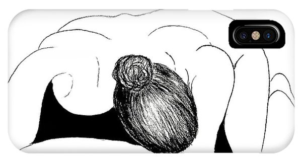 Nude In Supplication IPhone Case