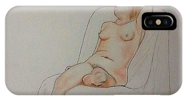 Nude Life Drawing IPhone Case
