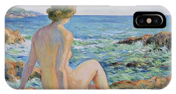 Nude On The Coast Monaco IPhone Case