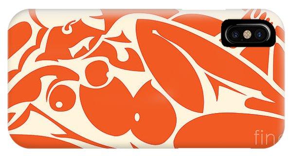 Nude Orange IPhone Case
