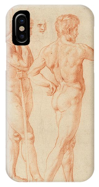 Raphael iPhone Case - Nude Studies by Raphael