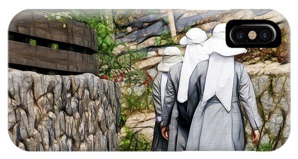 Nuns In A Row IPhone Case