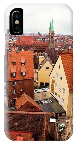 Nuremberg Cityscape IPhone Case