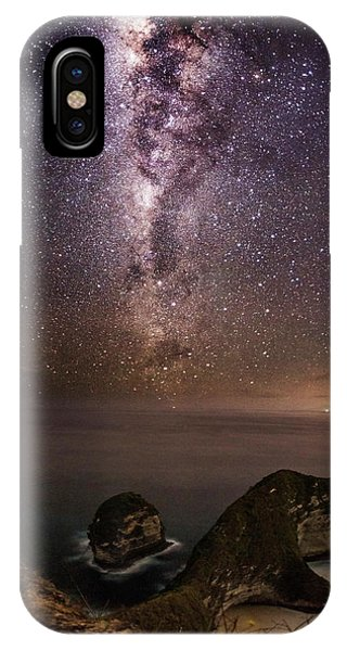 Nusa Penida Beach At Night IPhone Case