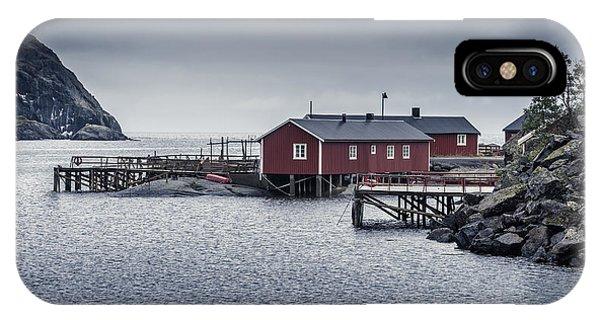 Nusfjord Rorbu IPhone Case