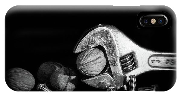 Industry iPhone Case - Nuts And Bolts by Tom Mc Nemar