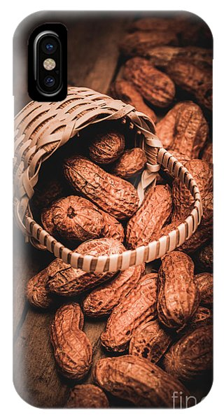 Nature Still Life iPhone Case - Nuts Still Life Food Photography by Jorgo Photography - Wall Art Gallery