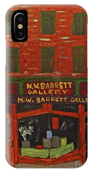 N.w.barrett Gallery IPhone Case