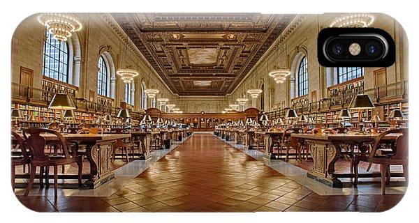 Ny Public Library Main Branch IPhone Case