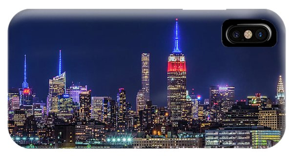 Nyc At The Blue Hour IPhone Case