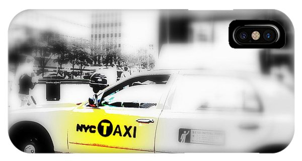 Nyc Cab IPhone Case
