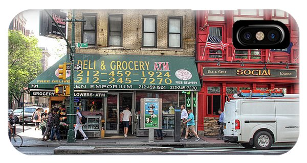 IPhone Case featuring the photograph Nyc Deli And Grocery  by Jackson Pearson