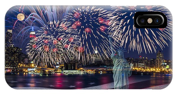 Nyc Fourth Of July Celebration IPhone Case