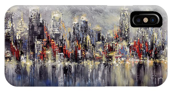 Nyc Lights IPhone Case